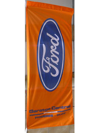 Bandera vertical Ford