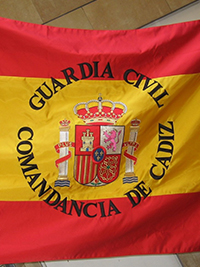 Bandera Nacional Guardia Civil