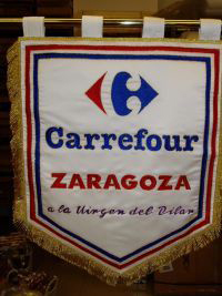 Estandarte Carrefour